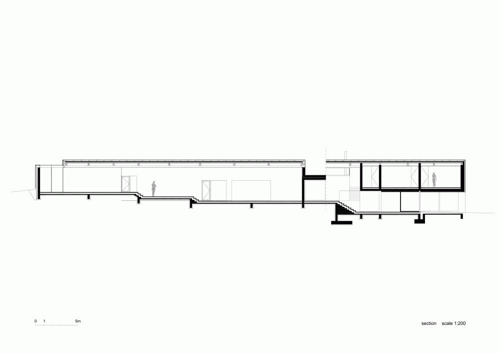 Gallery Of Slight Slope Long House I O Architects 20 Long House Architect Modern Prefab Homes