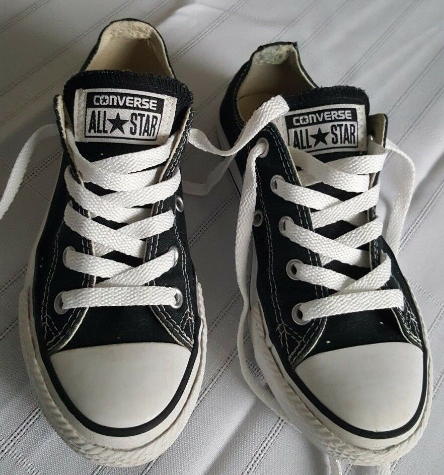 cebcd3d900f Converse All-Star Youth Black Shoes Size 13 Sneakers boys girls #fashion  #clothing #shoes #accessories #kidsclothingshoesaccs #unisexshoes (ebay  link)