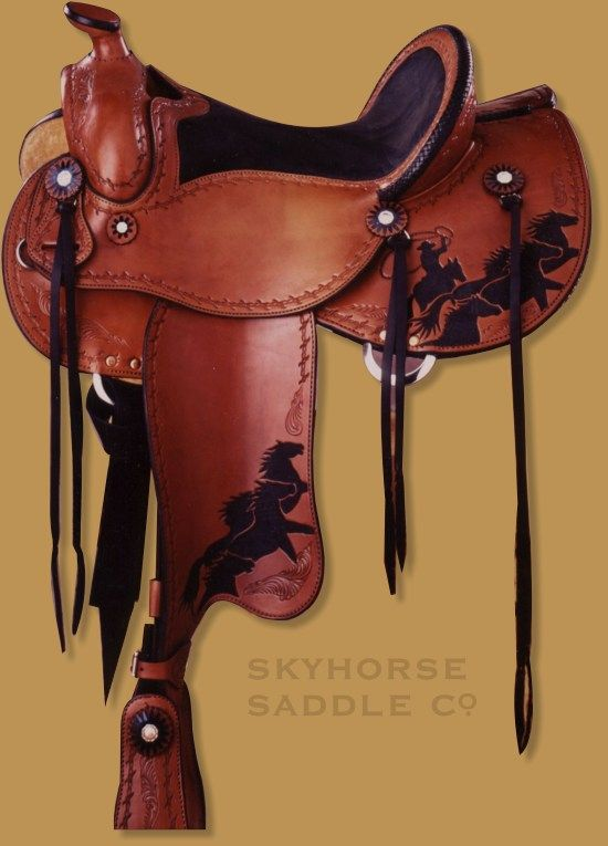 Cowboy Pleasure-Skyhorse Saddles   For My Golden Lady <3   Pinterest ...