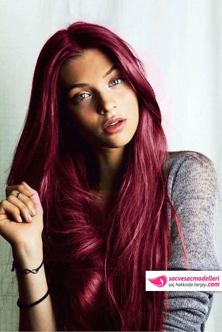 Kırmızı saç rengi
