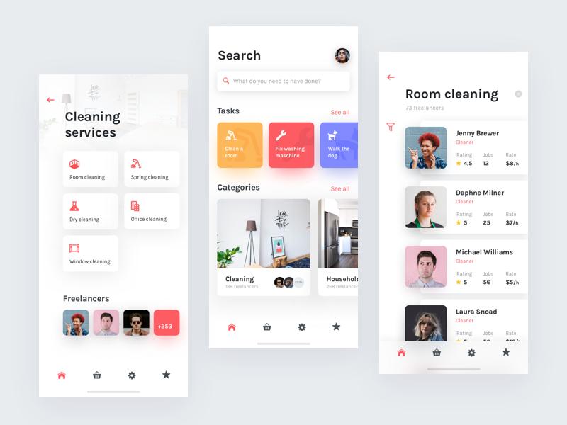 Done On Demand Services App Ios App Design Mobile App Design Application Design