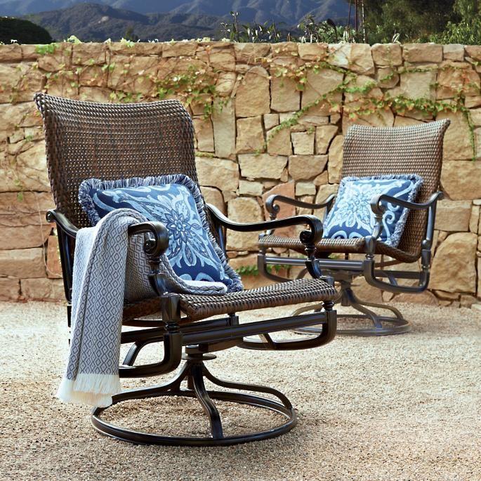 Swivel Rocker Lounge Chairs, Patio Furniture Swivel Glider Chair