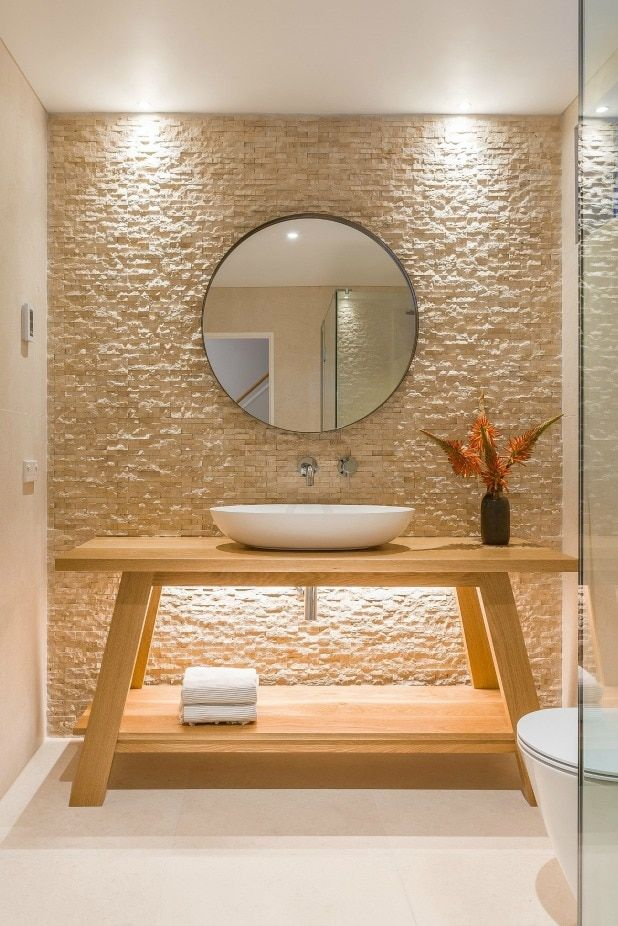 It's back to nature for bathroom design trends in 2018 | Bathrooms Back To Bathroom Designs on door design, tile design, restroom design, foyer design, bathtub design, interior design, kitchen design, pantry design, closet design, bedroom design, staircase design, nursery design, shower design, washroom design, toilet design, basement design, small bath design, exterior design, room design, garage design,