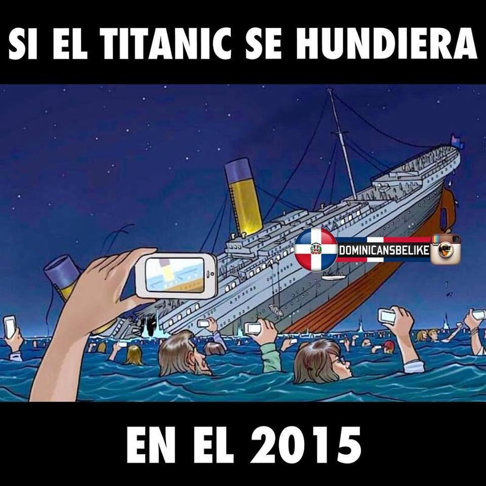el titanic en el 2015