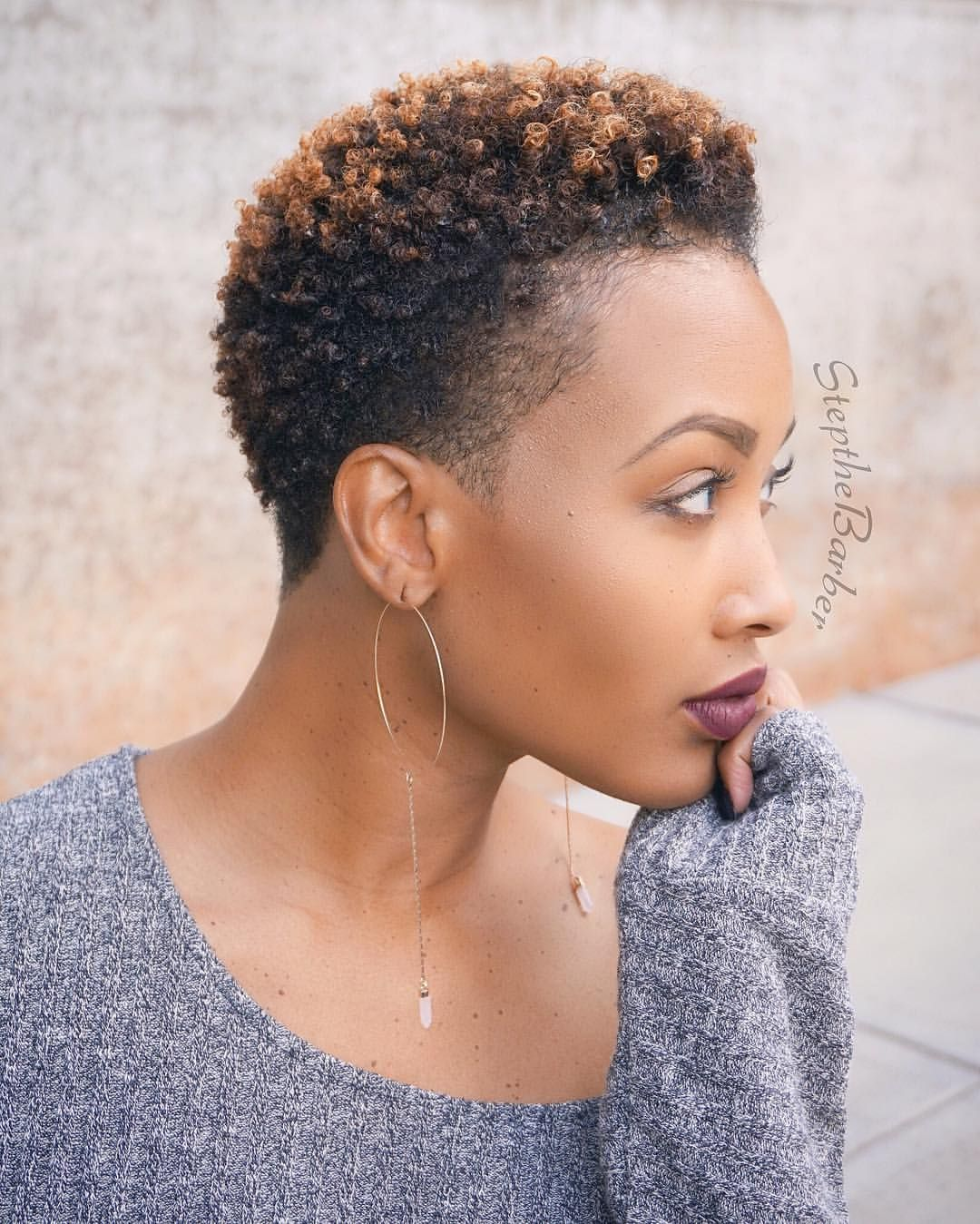 Owner Of Plushmidtown 840 3rd St Nw Suite 28 Atlanta Ga 30318 Appointment Only For Pric Short Natural Hair Styles Short Natural Haircuts Natural Hair Styles