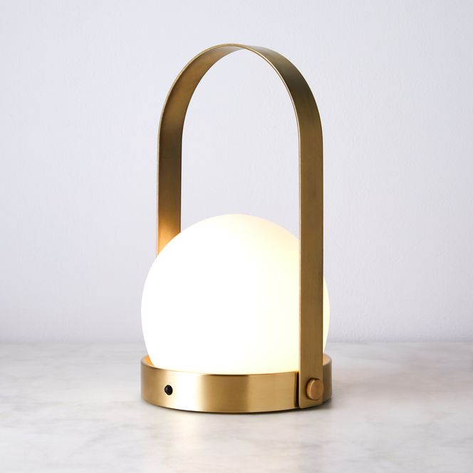 Carrie LED Lamp Brushed Brass | Utomhusbelysning