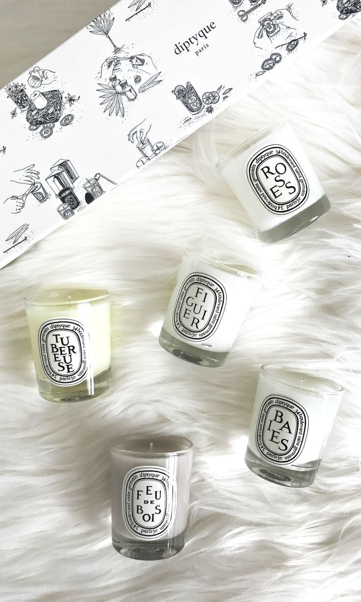 Diptyque Scented Candle Set... comes with five 20.20z diptyque ...