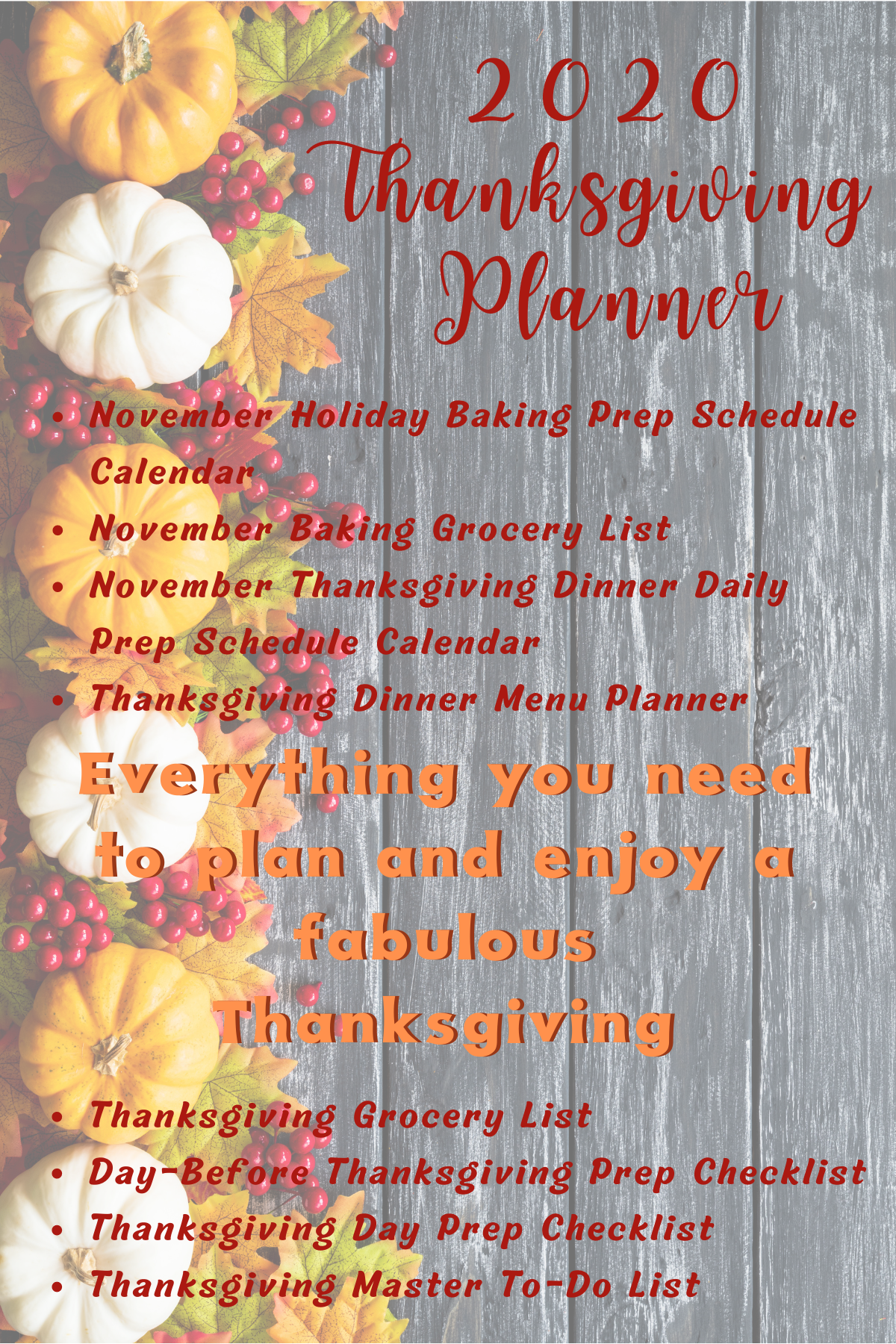 This Thanksgiving Start With A Plan In 2020 Thanksgiving Planning Thanksgiving Planner Thanksgiving Prep