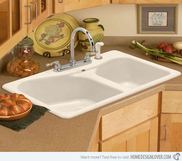 15 cool corner kitchen sink designs - Corner Sink For Kitchen