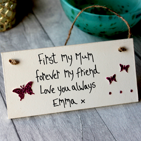 Mothers Day Ideas Personalised Plaque By Madeat94 Mum Gifts From