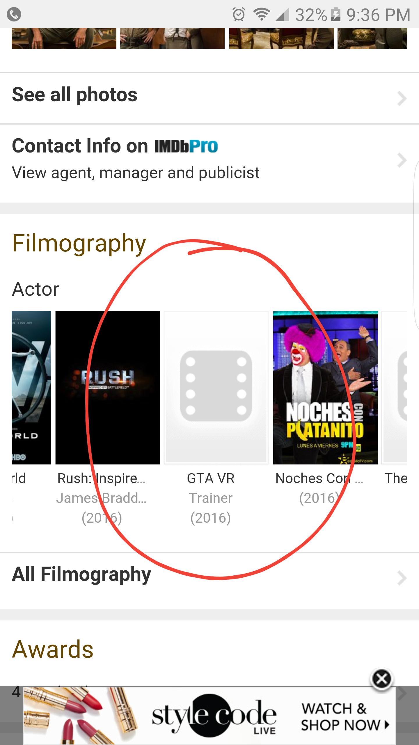 I was on Steven Ogg\'s aka GTA V\'s Trevor Philips imdb page and I ...