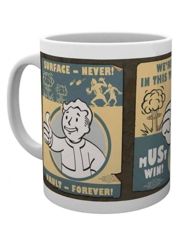Fallout 4  Personalised Gaming Fan Mug