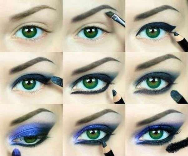 Machiaj Pas Cu Pas Pentru Ochi De Culoare Verde Machiaj Pentru