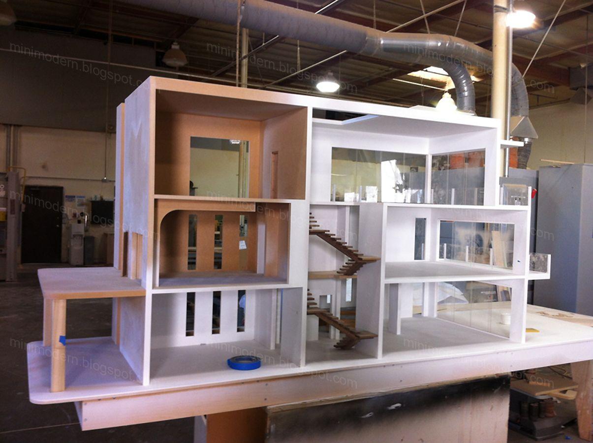 February 2013 Doll House Plans Modern Dollhouse Barbie Doll House