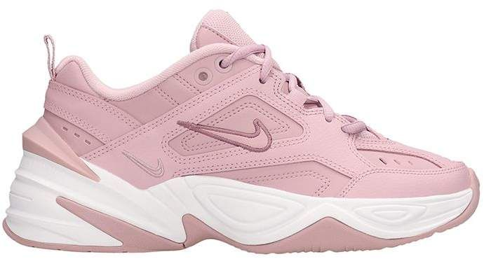 Nike M2k Techno Sneakers Pink Leather in 2019 | Nike