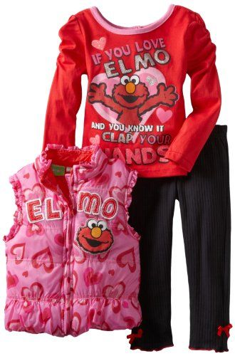 556f716474ece Pin by Samantha Pearl YTB on Sesame Street Elmo | Toddler leggings ...