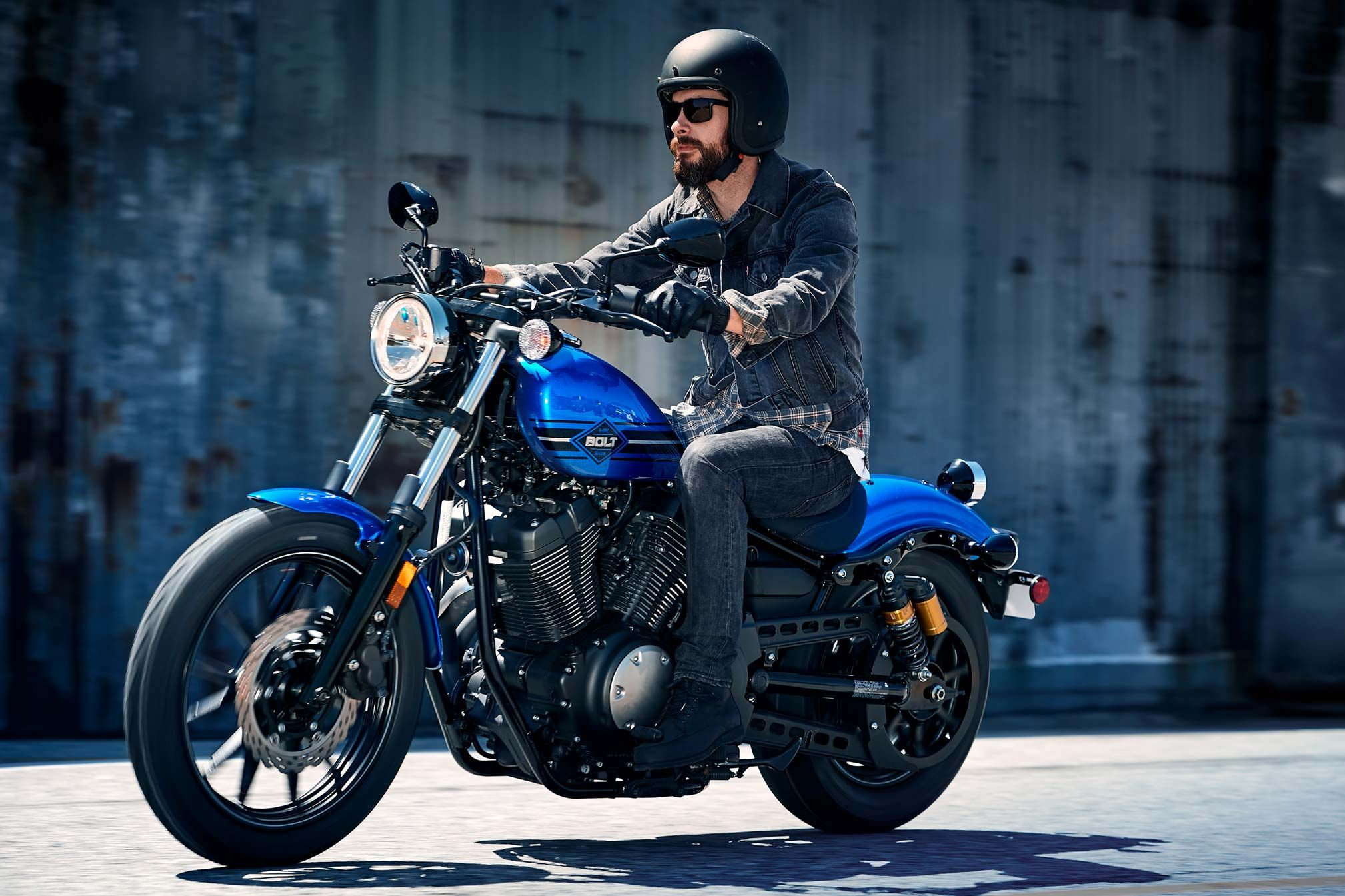 2018 Yamaha Bolt RSpec Review BOBBING THE STREETS IN