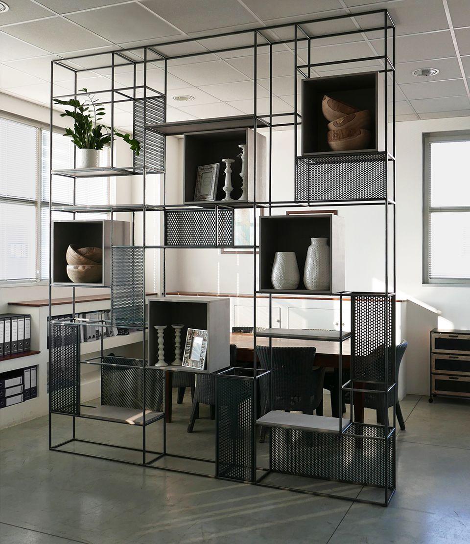 Mib by jab studio v ch ngan estante vazada estante for Mobili per lo studio di casa