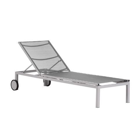 Shore Aluminum Chaise Lounge - GY - Quick Ship  sc 1 st  Pinterest : chaise lounge ottawa - Sectionals, Sofas & Couches