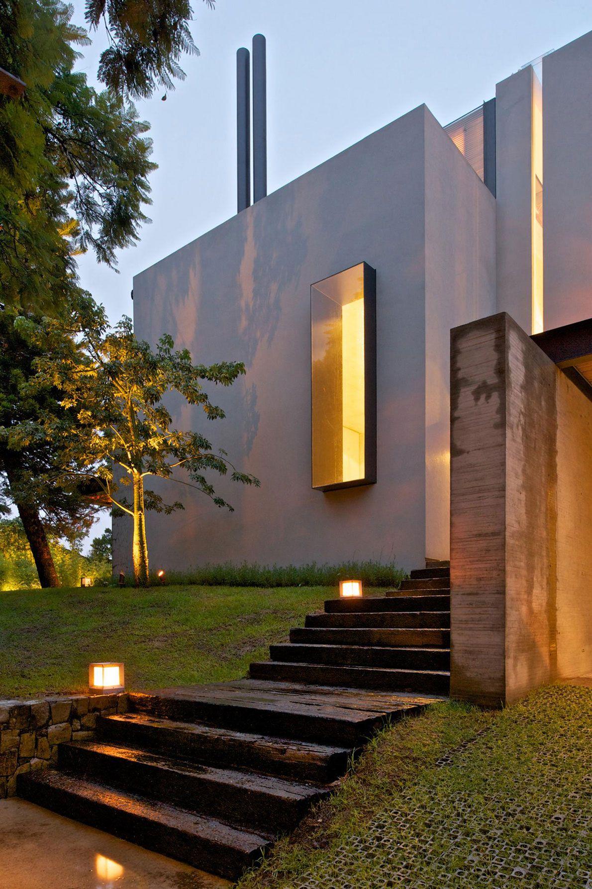 Casa Jacarandas By Hernandez Silva Arquitectos  In Guadalajara, Jalisco,