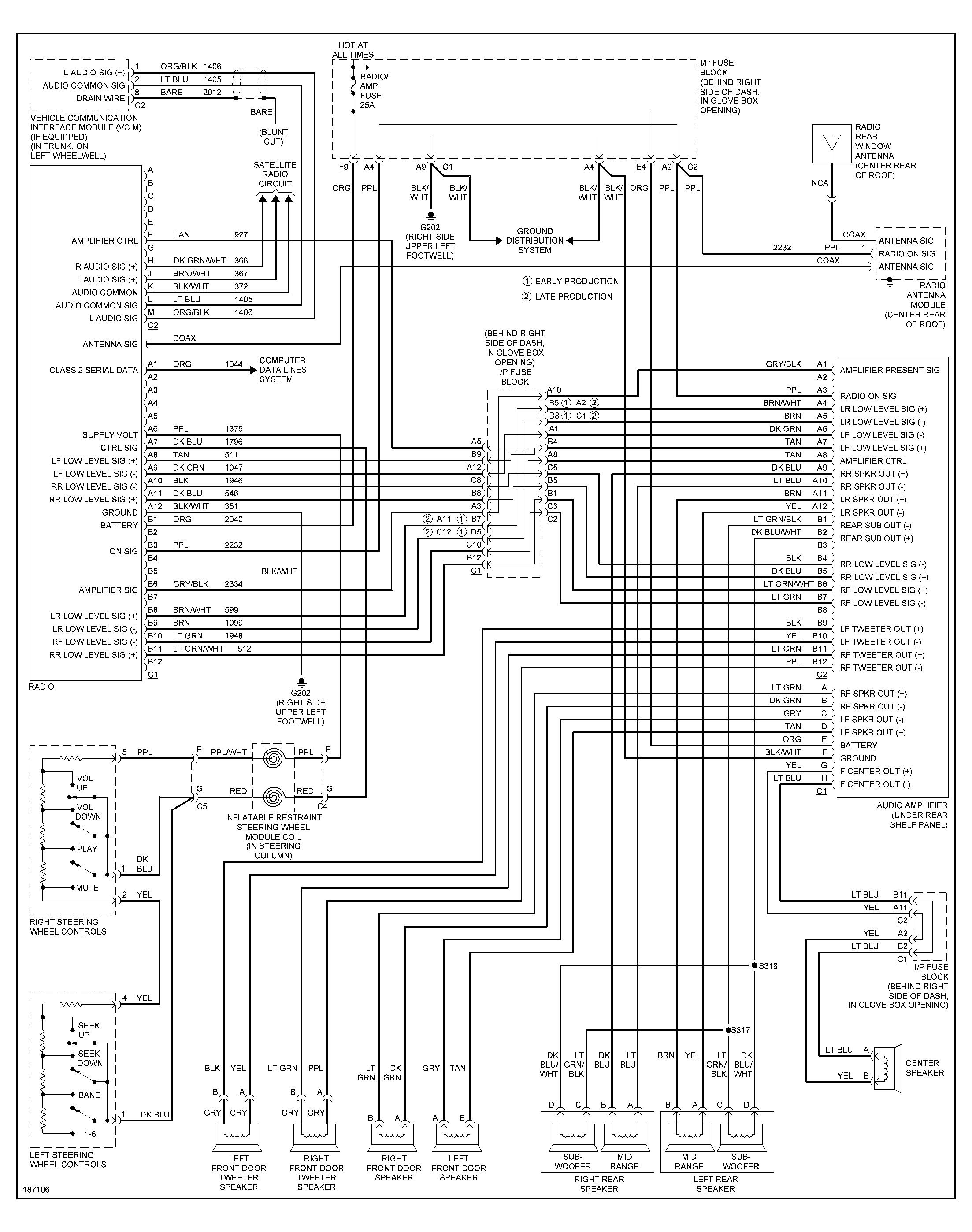 2000 Pontiac Grand Prix Radio Wiring Diagram