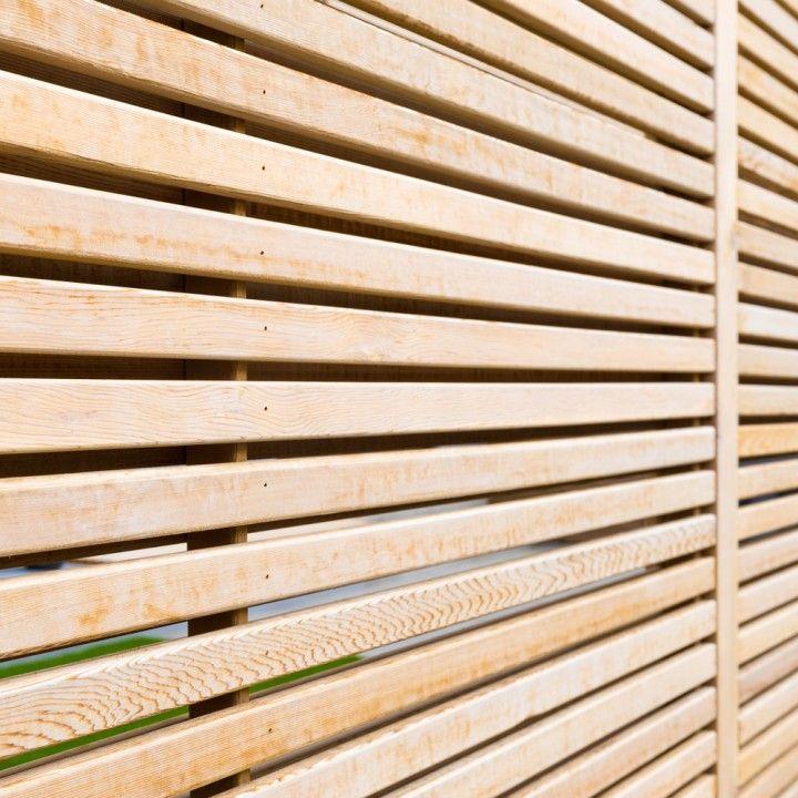 Western Red Cedar Premium Slatted Screen Boards 19 x 38mm outdoor