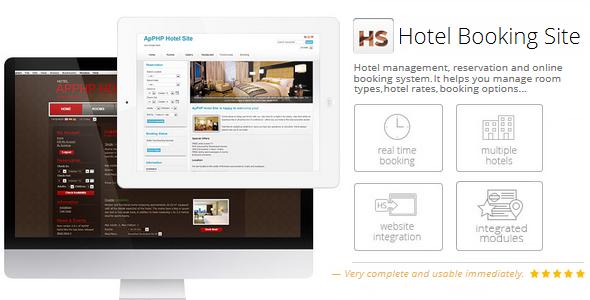 PHP Hotel Reservation System (Light) Hotel reservations