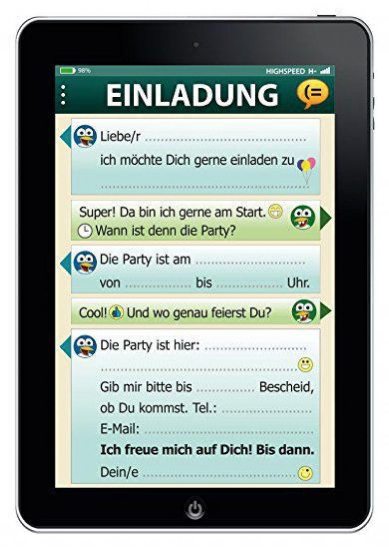 Einladung 6 Geburtstag: Geburtstagseinladungen Text Whatsapp