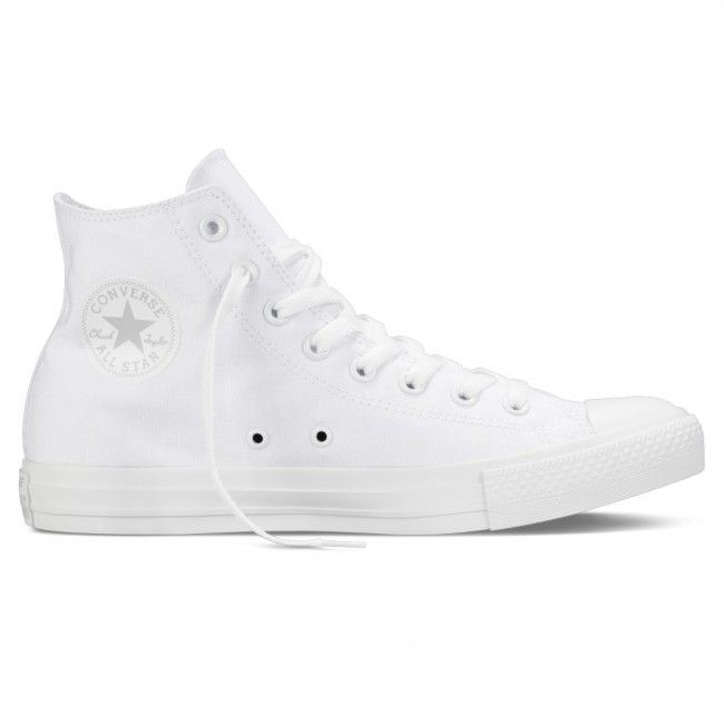 c81914422290 Chuck Taylor All Star Hi White Monochrome shoes for men by Converse ...
