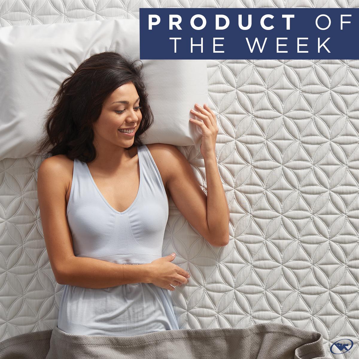 Tempur Essential Pillow helps you sleep
