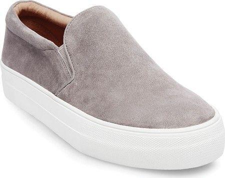 Steve Madden Women's Gills Fashion Sneaker, Black Suede, 8.5 M US