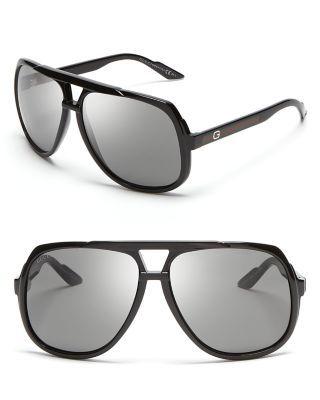 54a18e259bdcf GUCCI Oversized Acetate Aviator Sunglasses.  gucci  sunglasses ...