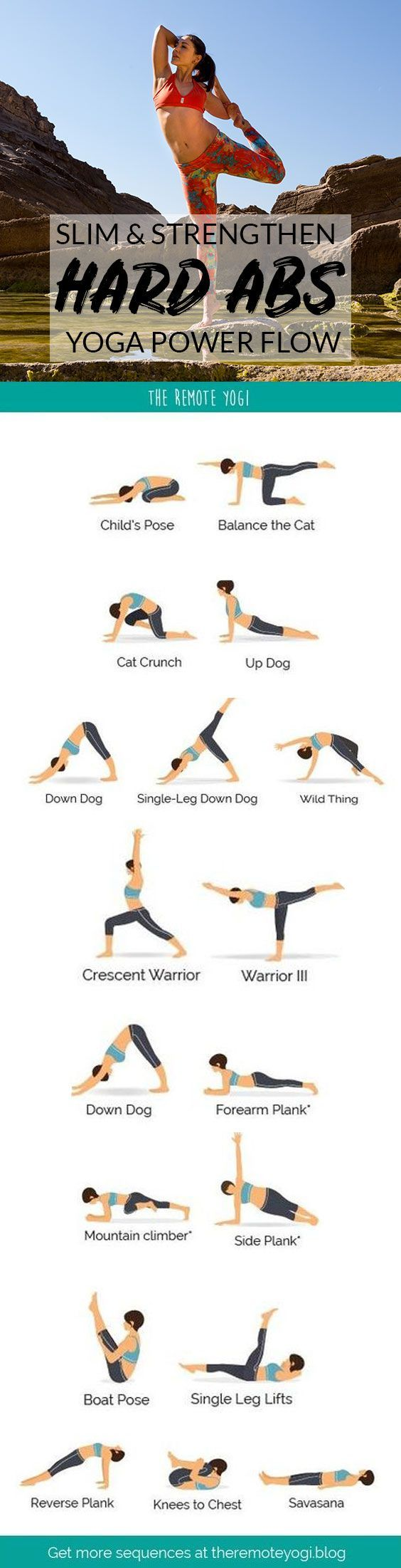 Yoga for Strong Abs & Arms – Free Printable PDF