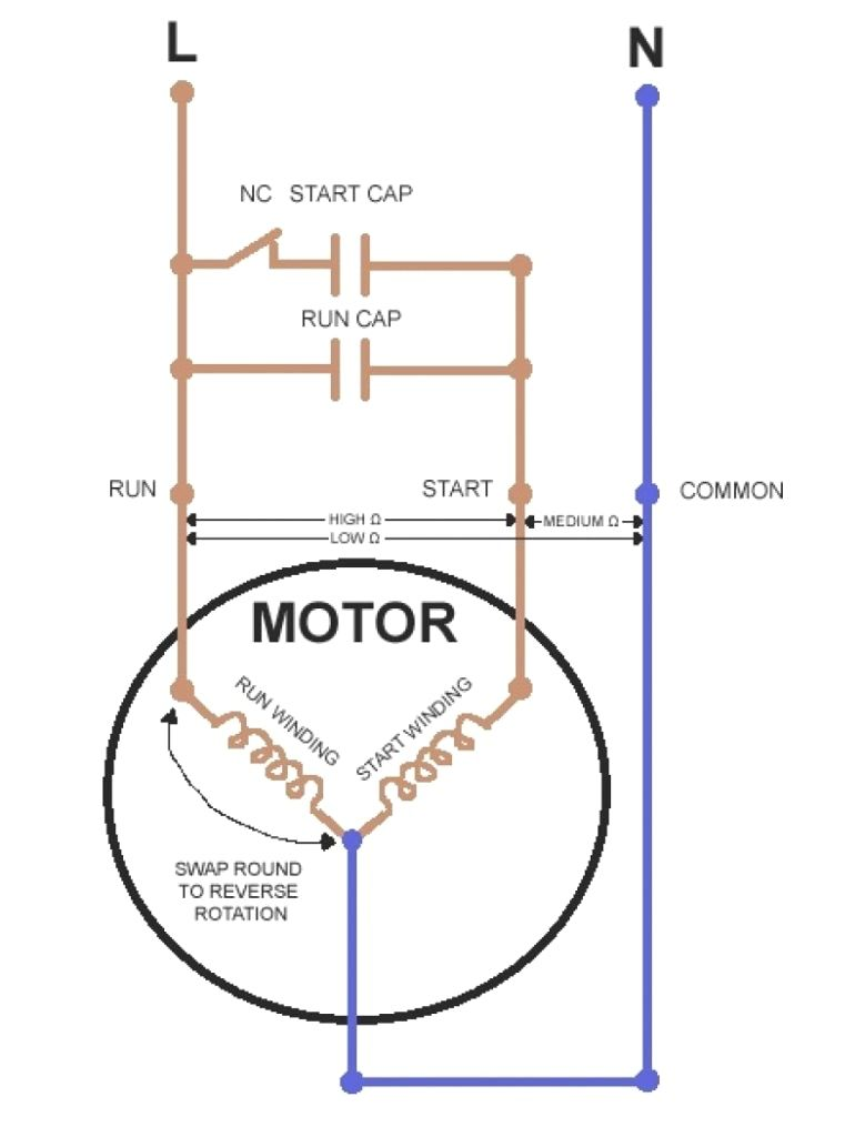 wiring a capacitor diagram wiring diagram