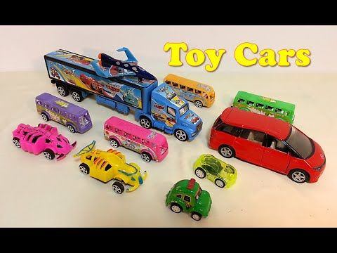 toy cars for kids small and big toy cars opening toy videos for chil