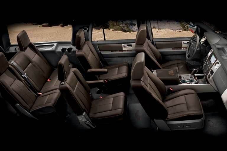 2017 Ford Expedition King Ranch Interior In Mesa Brown Ford