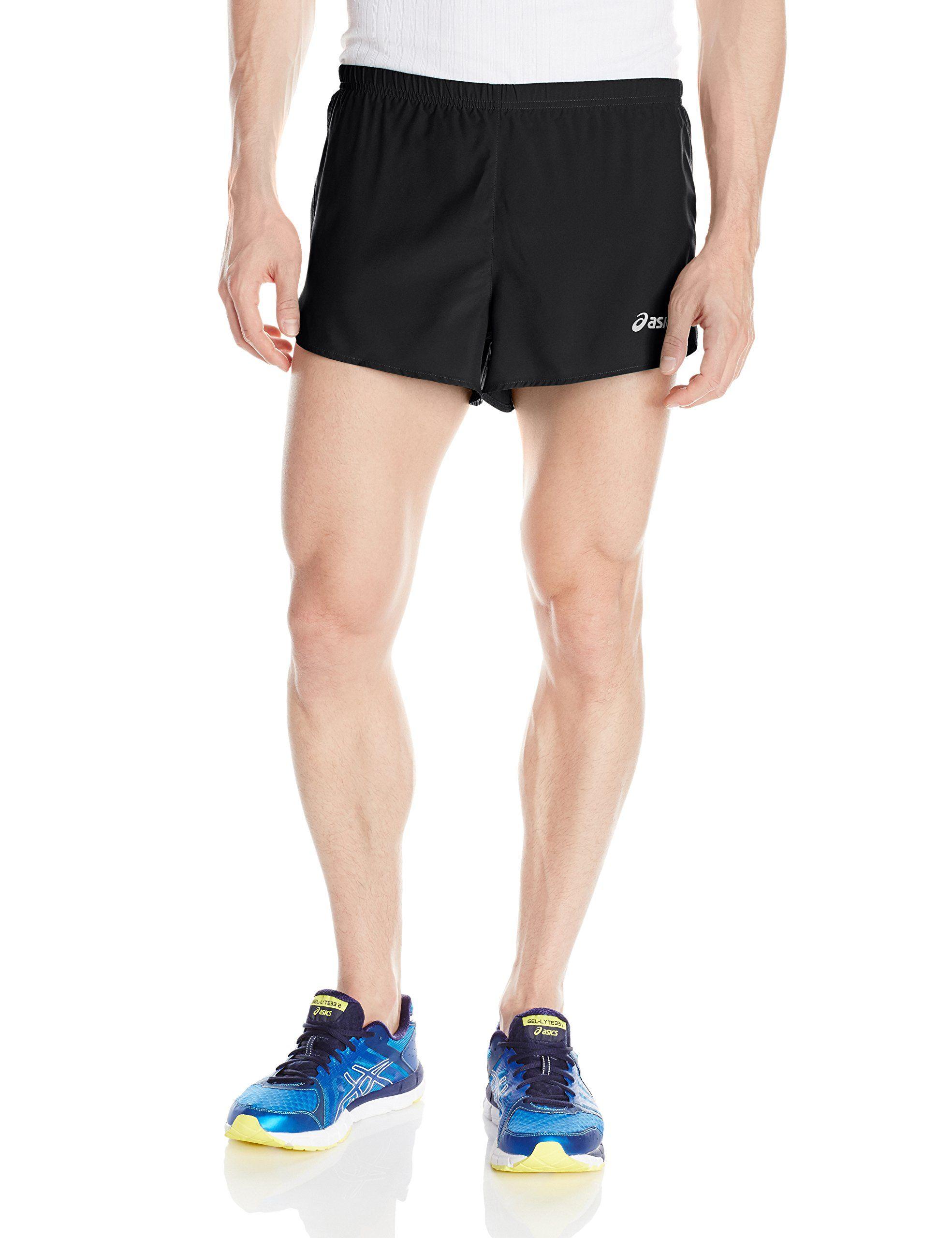 ASICS Men's Performance Run 3 Inch Split Shorts, Performance