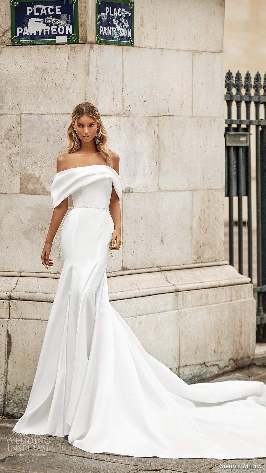 Milla Nova's Simply Milla 2020 Wedding Dresses   Wedding Inspirasi -   19 dress Wedding casamento ideas