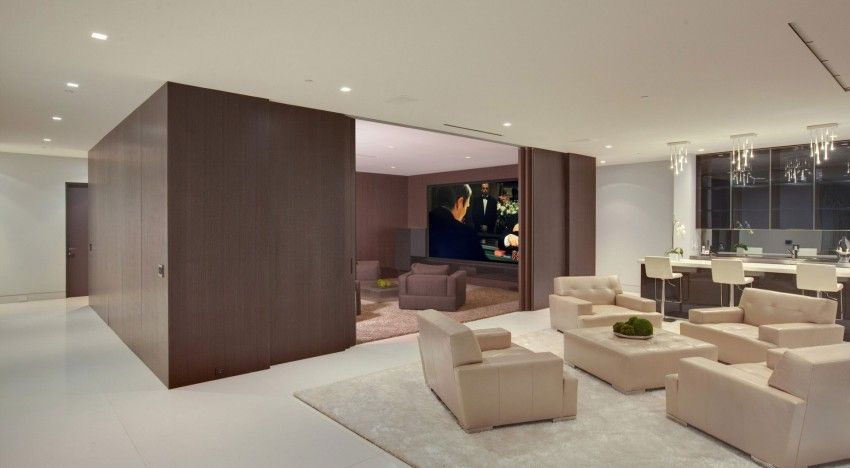 tv room off living room