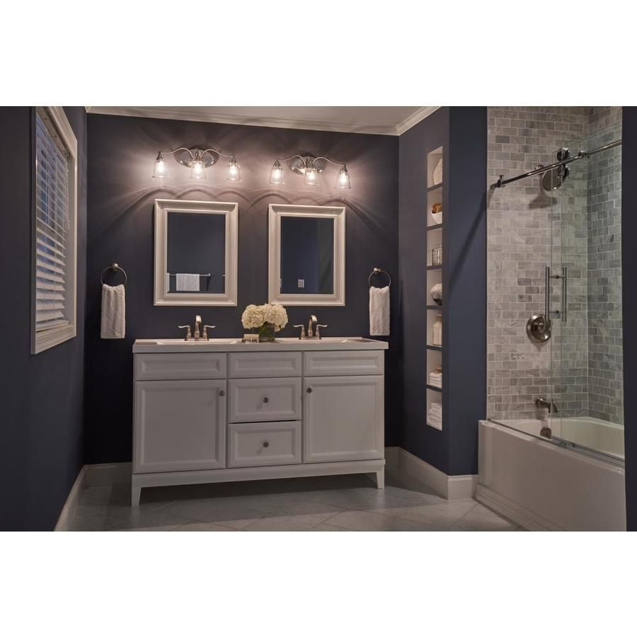 Love This Light Fixture Over Double Sink Two Mirrored Vanity