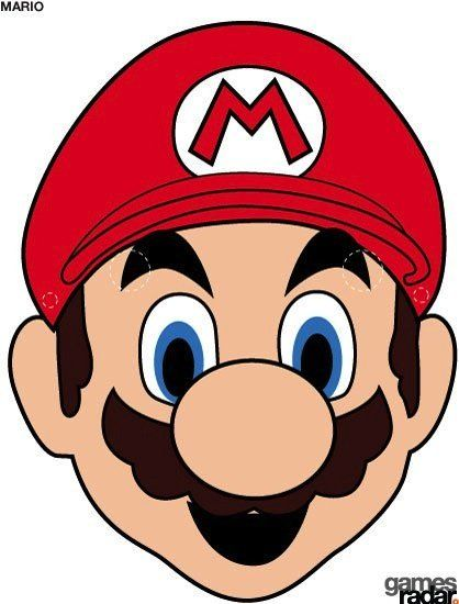 Printable Halloween Masks Mario Bros Party Super Mario Bros Party Super Mario Brothers Party