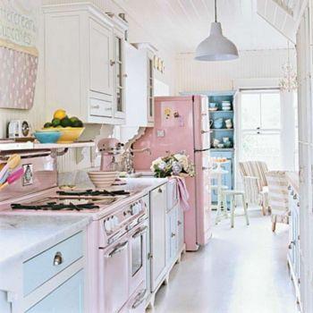 Cucina Bianca Azzurra E Rosa Dream Bakery Cucine Arredamento