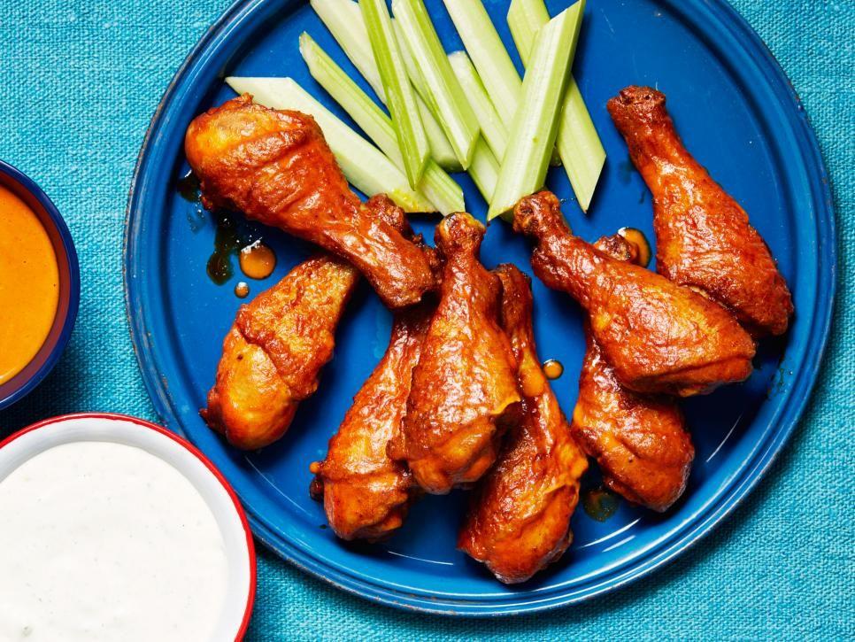 6 ways to reinvent chicken drumsticks food network oven baked 6 ways to reinvent chicken drumsticks forumfinder Choice Image