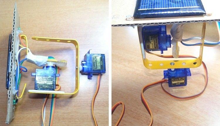 Arduino Solar Tracker Mit Bildern Arduino Projekte