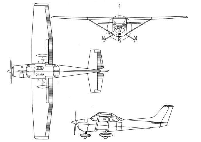 cessna 172 diagram
