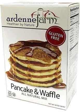 Ardenne Farm Gluten Free Pancake and Waffle Mix 20 Ounce ...