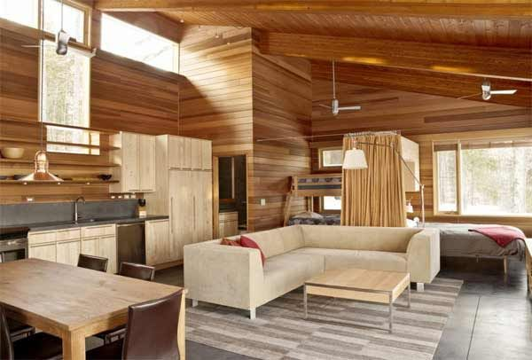 Inside Tiny Houses | Small Home Interior Design with Natural ... on natural wood exterior paint color, natural wood interior design, natural wood kitchen ideas, natural wood texture background,