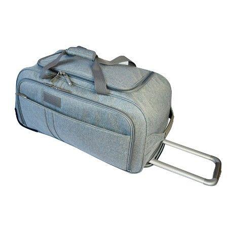 Verrazano Rolling Duffle Bag Grey 25 Target