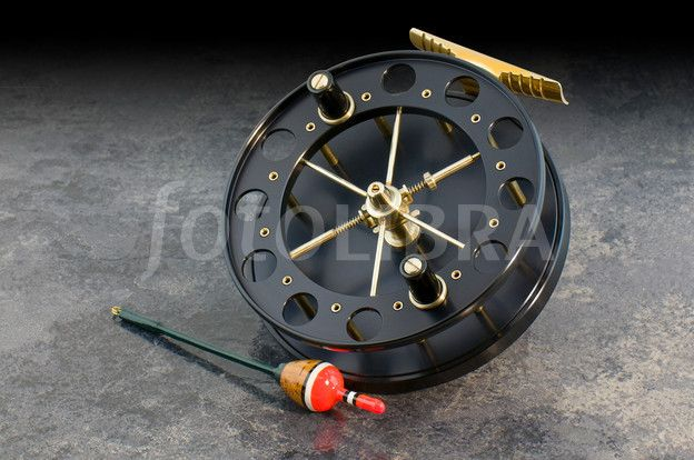 A mooching reel  Inspiration for the large arbor fly reels