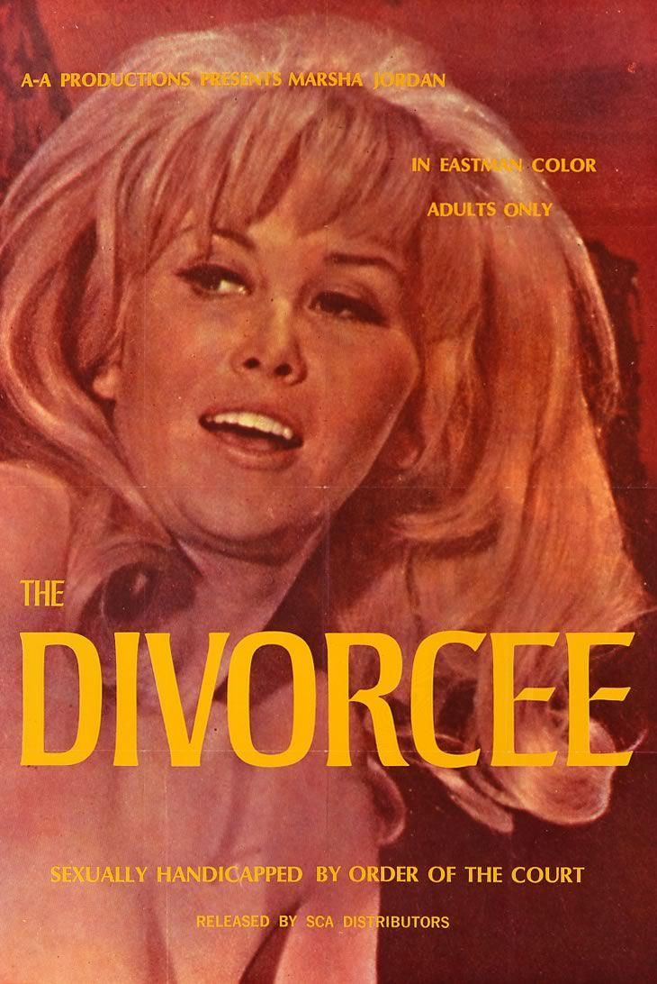 divorcee x rated posters of the 60s and 70s